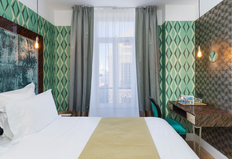 The Jay Hotel by HappyCulture, Nice, Apartmá, 1 ložnice, kuchyně, výhled na město, Pokoj