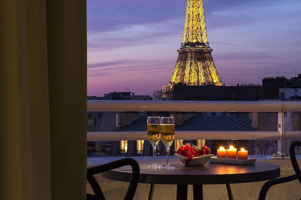 Štúdio, balkón (Eiffel Tower View) - Izba