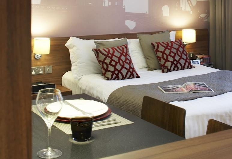 Citadines Apart'hotel Holborn-Covent Garden London, לונדון, סטודיו, חדר
