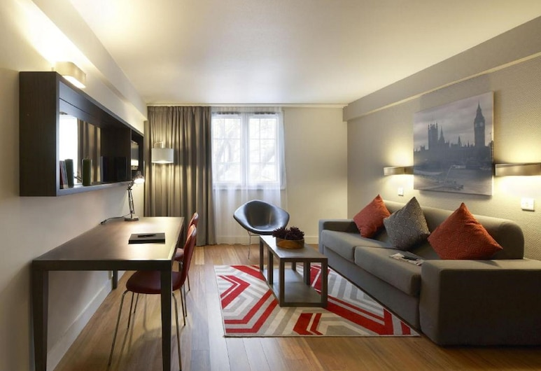 Citadines Trafalgar Square London, Londra, Apart Daire, 2 Yatak Odası, Oturma Alanı