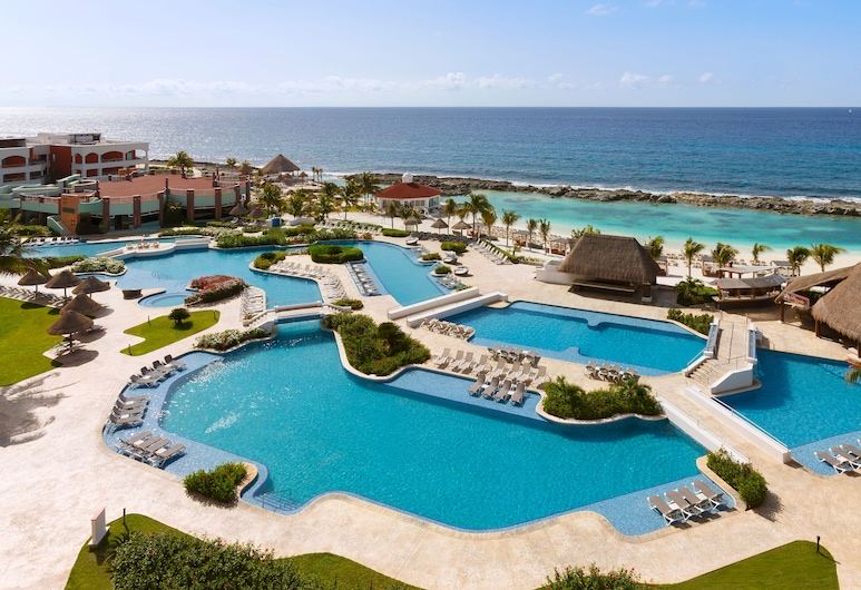 Hard Rock Hotel Riviera Maya - All Inclusive, פוארטו אבנטורס, Deluxe Gold King , נוף מחדר האורחים