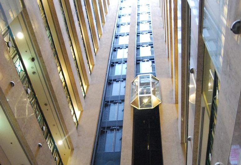Stamford Plaza Melbourne, Melbourne, Entrada (parte interna)