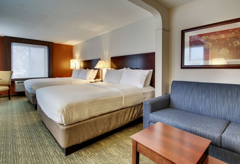 Holiday Inn Express & Suites Lincoln East - White Mountains, Lincoln, Suite, 2 letti queen, non fumatori, Camera