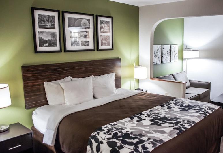 Sleep Inn & Suites Topeka West I-70 Wanamaker, Topeka, Suite, 1 cama King size con sofá cama, para no fumadores, Habitación