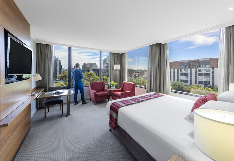 View Melbourne (Melbourne Parkview Hotel), Melbourne, City View King Room, Guest Room
