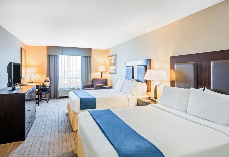 阿爾伯特親王城智選假日套房飯店, 阿伯特王子城, 客房, 2 張加大雙人床, 非吸煙房, 客房