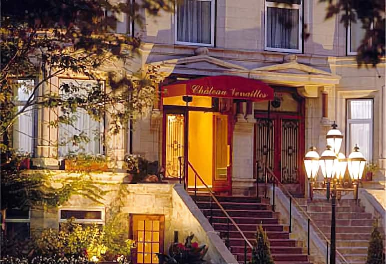 Chateau Versailles, Montreal, Hotel bejárata