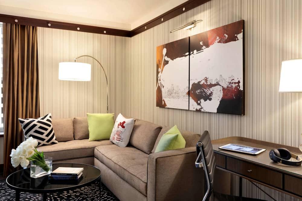 Suite de lujo - Sala de estar
