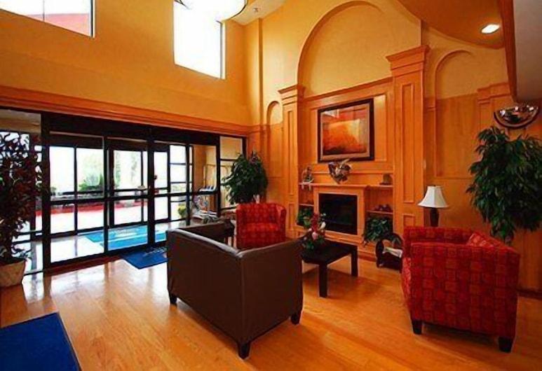 โรงแรมฟรอนเทียร์, ฮูสตัน, บริเวณประตูทางเข้า