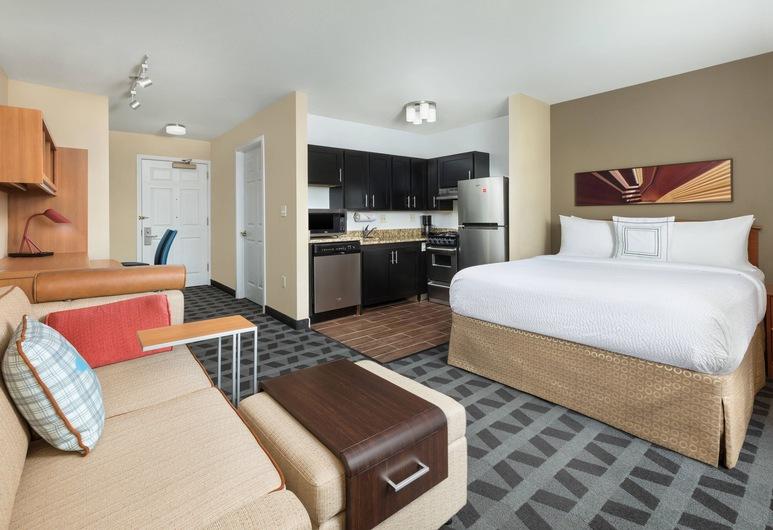 TownePlace Suites by Marriott Mt. Laurel, מאונט לורל, סטודיו, מיטת קווין, ללא עישון, חדר