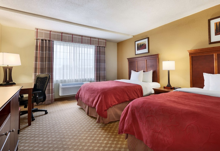 Country Inn & Suites by Radisson, Kalamazoo, MI, Kalamazoo, Room, 2 Queen Beds, Non Smoking, Guest Room