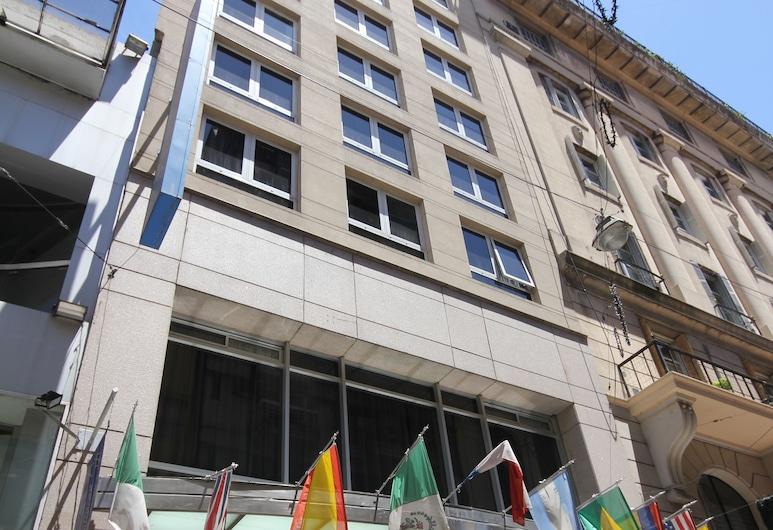 Hotel Howard Johnson Plaza Florida Street, Buenosairesa, Viesnīcas priekšskats vakarā/naktī