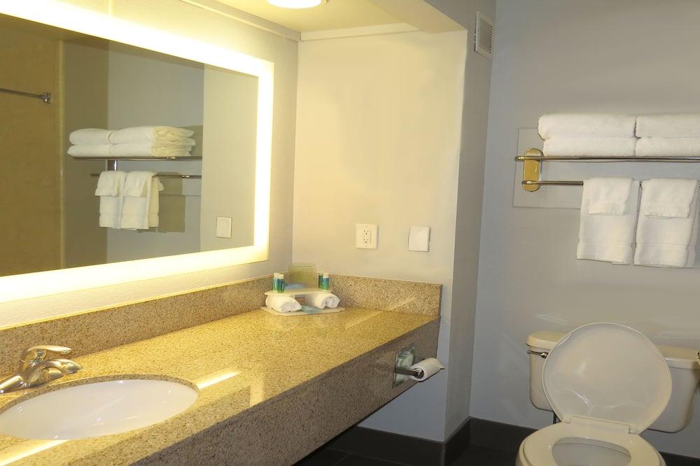 豪華套房, 1 張特大雙人床, 無障礙, 非吸煙房 (Hearing) - 浴室