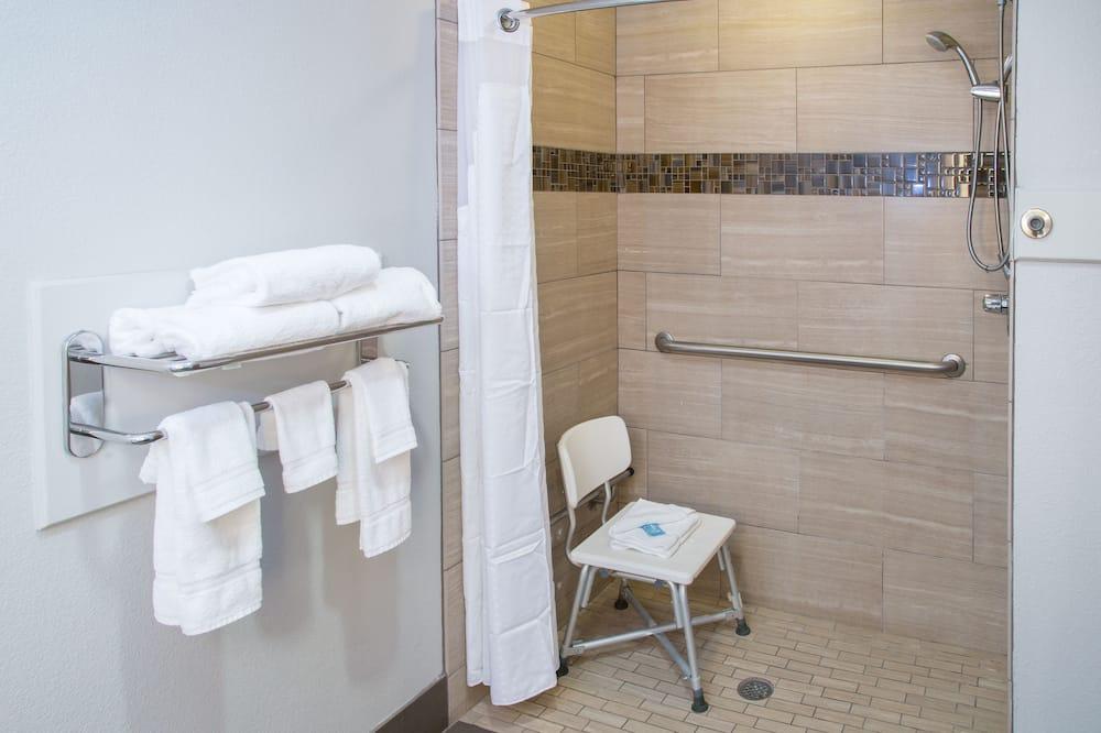 客房, 2 張加大雙人床, 無障礙, 非吸煙房 (Hearing) - 浴室