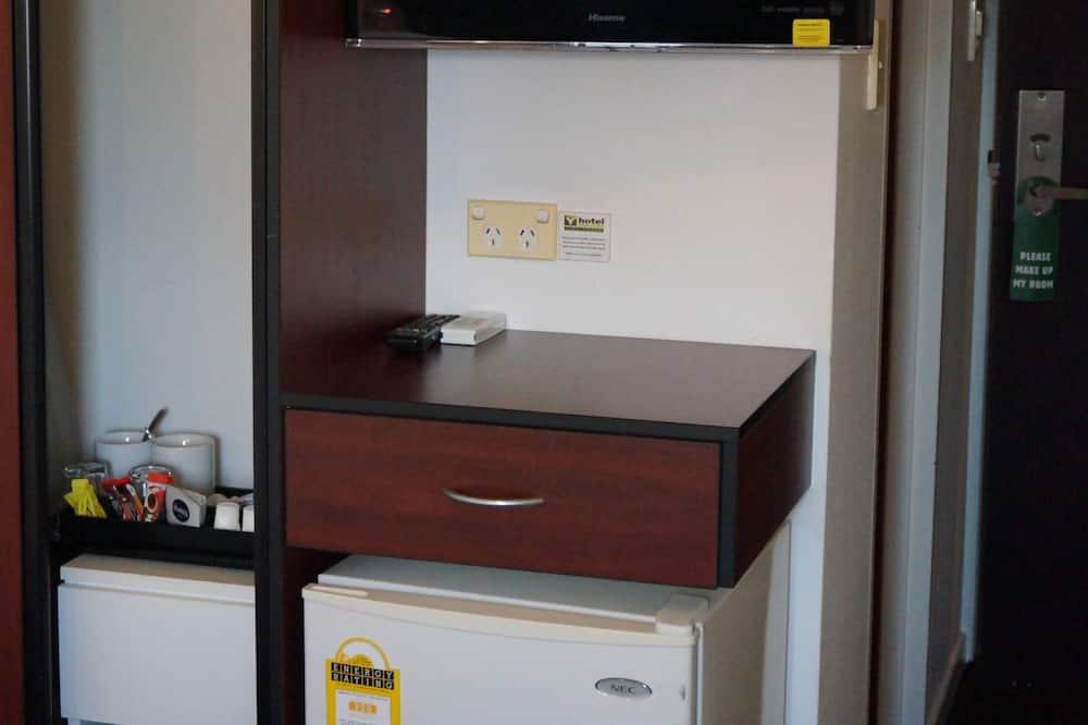 Standaard tweepersoonskamer, en-suite badkamer (Double En-Suite) - Minikoelkast