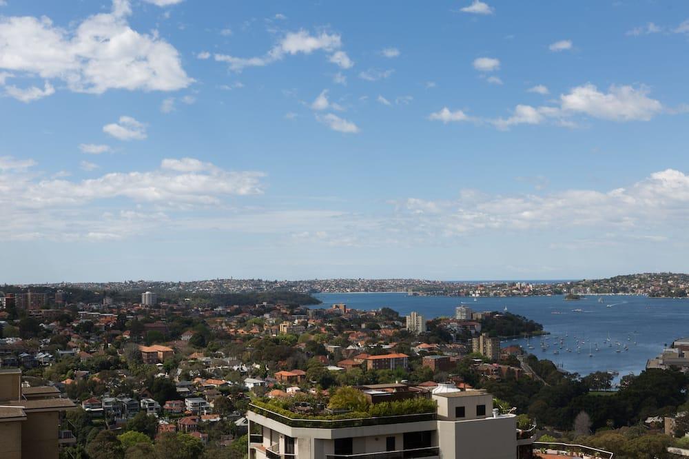 Deluxe kamer, uitzicht op haven - Uitzicht op het water
