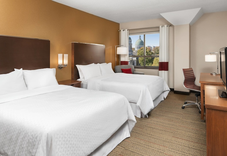 Four Points by Sheraton Kingston, Kingston, Quarto Tradicional, 2 camas queen-size, Não-fumadores, Quarto