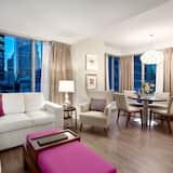 סוויטת דה-לוקס, מיטת קינג וספה נפתחת, נוף לעיר - אזור מגורים