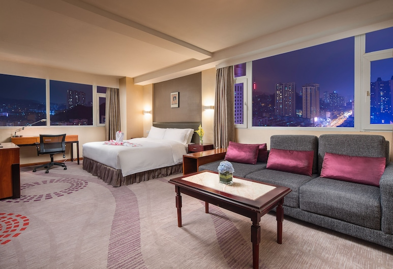 Ramada Plaza Guiyang, Guiyang, Executive-Zimmer, 1 King-Bett, Executive-Etage, Zimmer