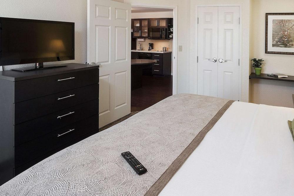 Номер-люкс, 1 ліжко «квін-сайз», обладнано для інвалідів (One Bedroom Tub) - Номер