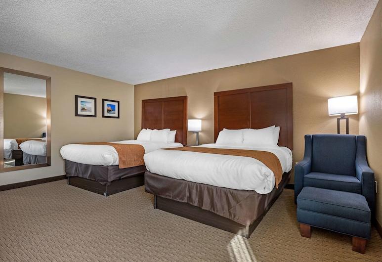 Comfort Inn near Barefoot Landing, North Myrtle Beach, Pokój, 2 łóżka queen, przystosowanie dla niepełnosprawnych, dla niepalących, Pokój