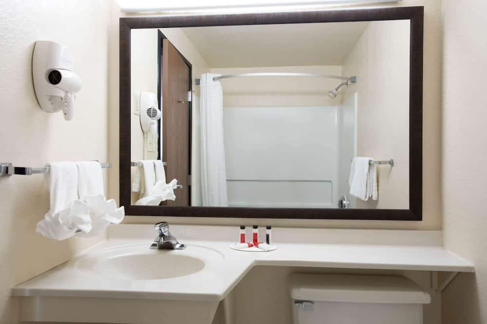 Upgraded - Standardværelse - 1 queensize-seng - Badeværelse