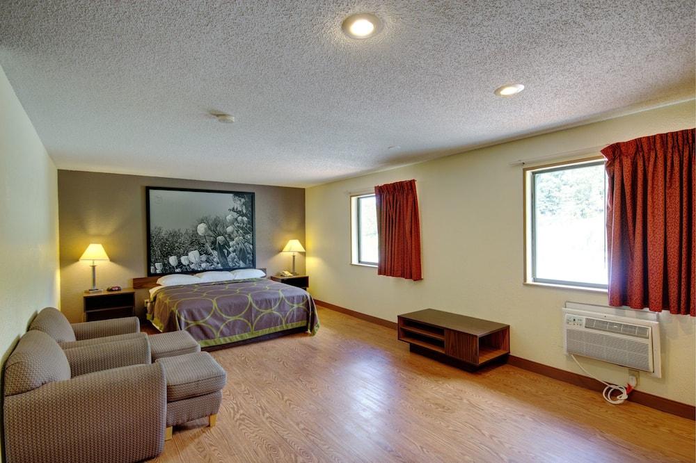 Suite, 1 kingsize bed, koelkast - Kamer