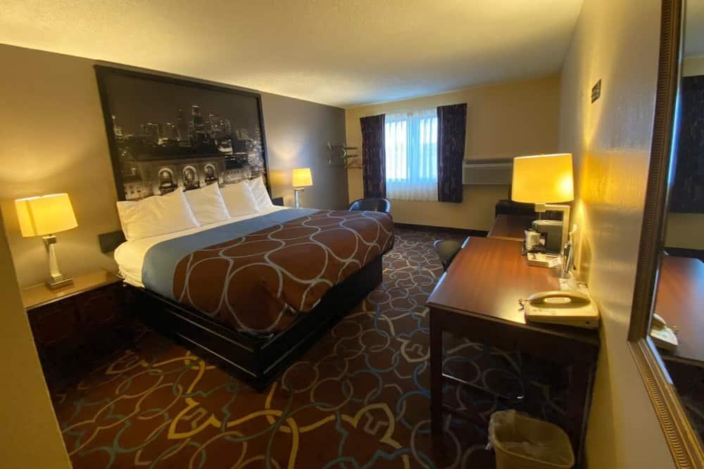 Rum - tillgänglighetsanpassat - Gästrum