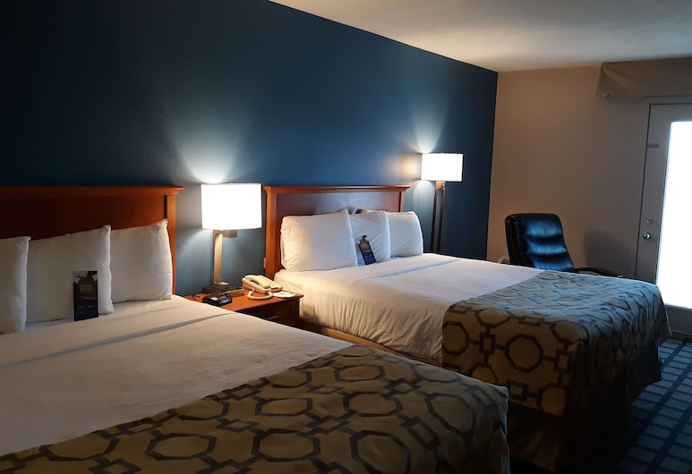 Baymont by Wyndham Rochester Mayo Clinic Area, Rochester, Studio Suite, 2 Queen Beds, Non Smoking, Guest Room