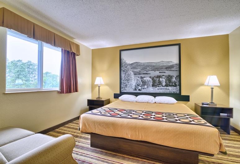 Super 8 by Wyndham Latham/Albany Troy Area, Latham, Suite clásica, 1 cama King size con sofá cama, para no fumadores, refrigerador y microondas, Habitación