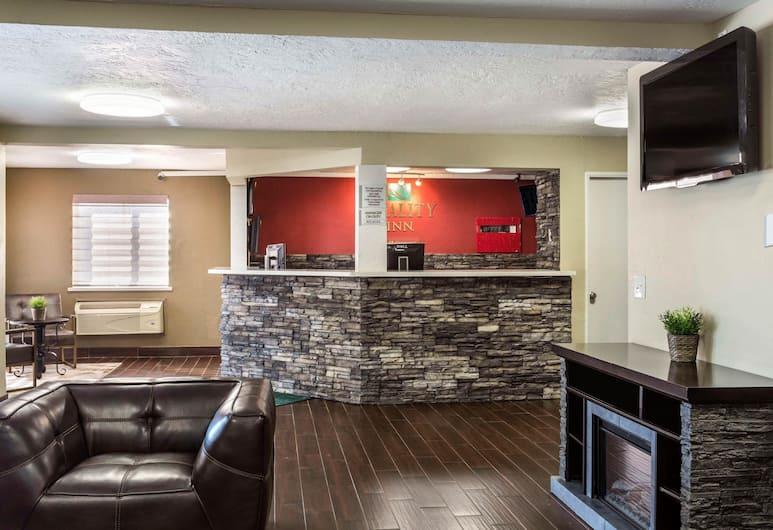 Quality Inn Downtown, Salt Lake City, Siddeområde i lobby