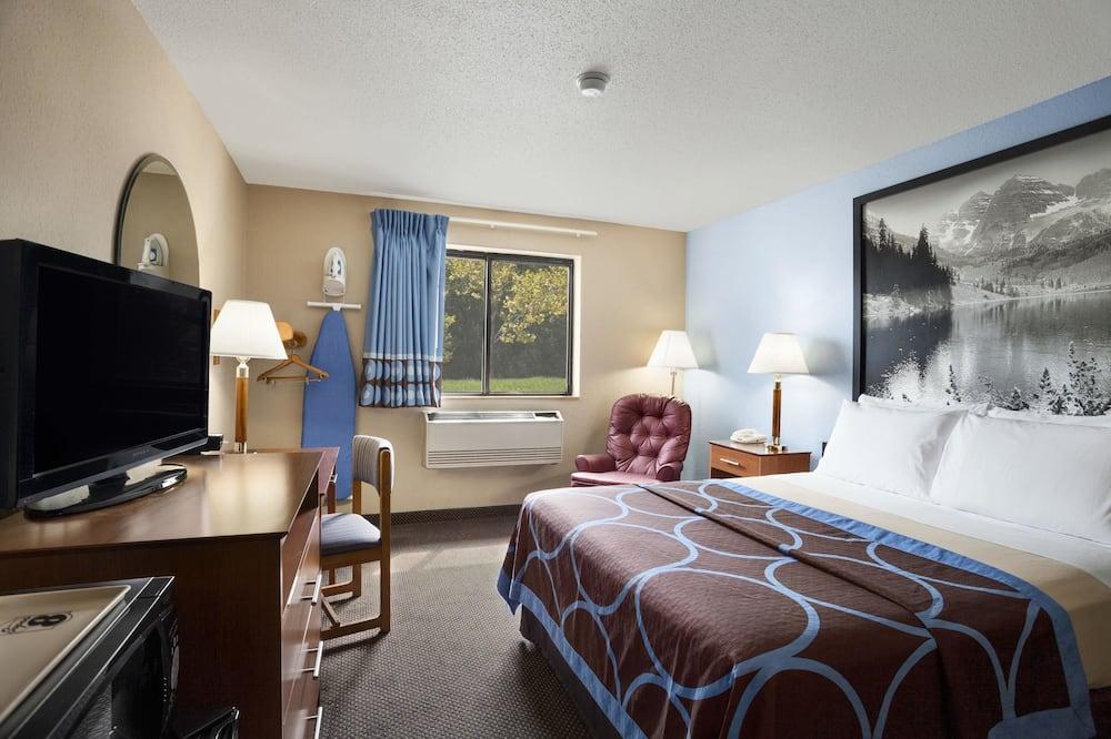 חדר, מיטת קווין, ללא עישון (Mobility Accessible) - חדר אורחים