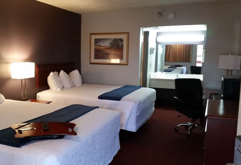 Americas Best Value Inn Oklahoma City at I-35 S, Oklahoma City, Room, 1 King Bed, Accessible, Non Smoking, Guest Room