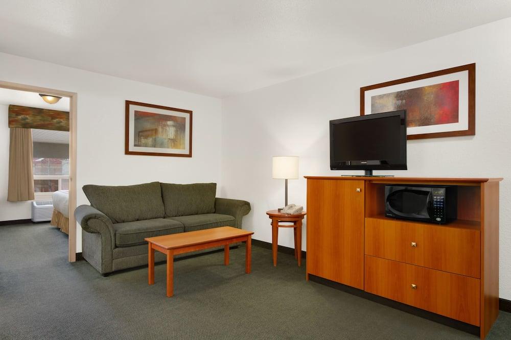 Upgraded, Apartament typu Suite, Łóżko king - Powierzchnia mieszkalna