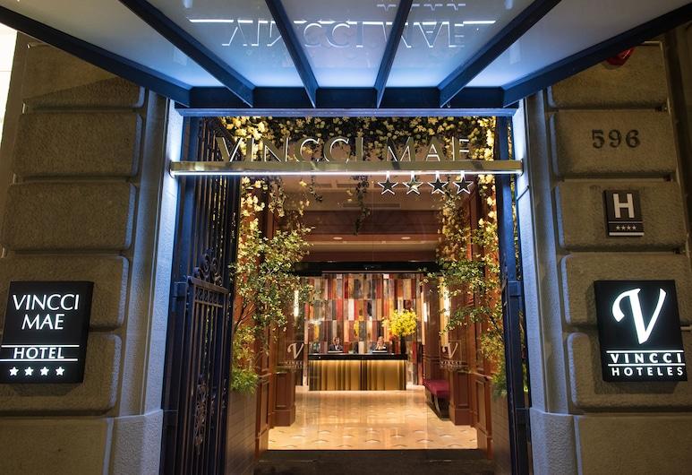 Vincci Mae, Barselona, Viešbučio fasadas