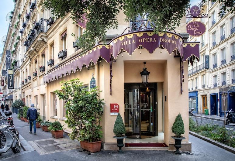 Villa Opera Drouot, Paris, Hotellets front