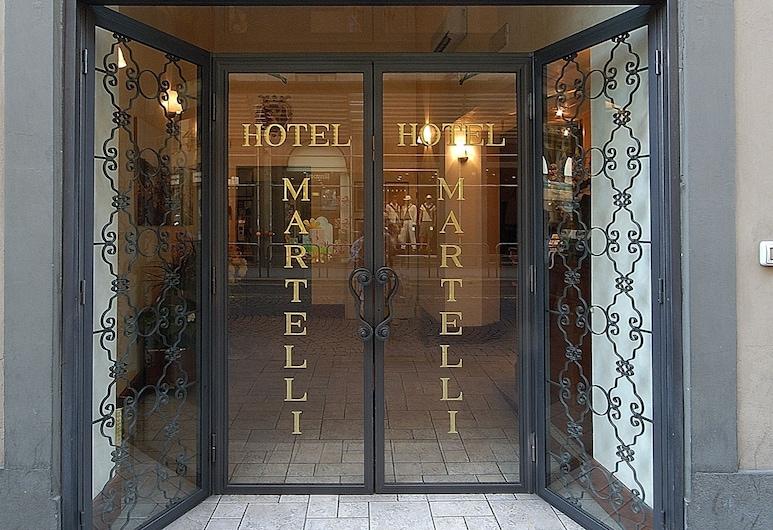 Hotel Martelli, Florence, Hotel Entrance