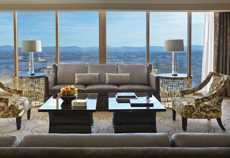 Four Seasons Hotel Las Vegas, Las Vegas, Suite, 1 King Bed with Sofa bed, Guest Room