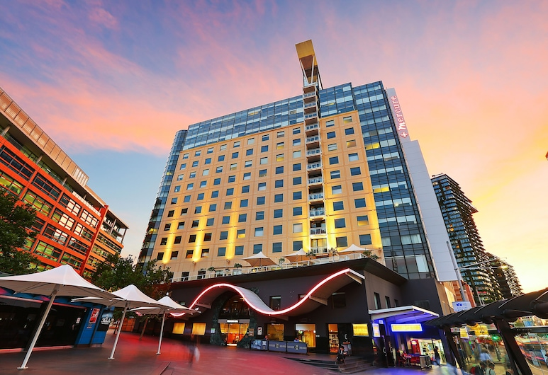 Mercure Sydney, Chippendale, Pohľad na hotel