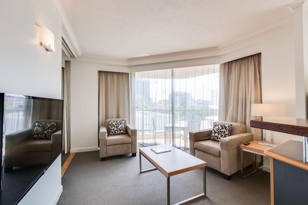 Представительские апартаменты, 1 двуспальная кровать «Кинг-сайз» - Зона гостиной