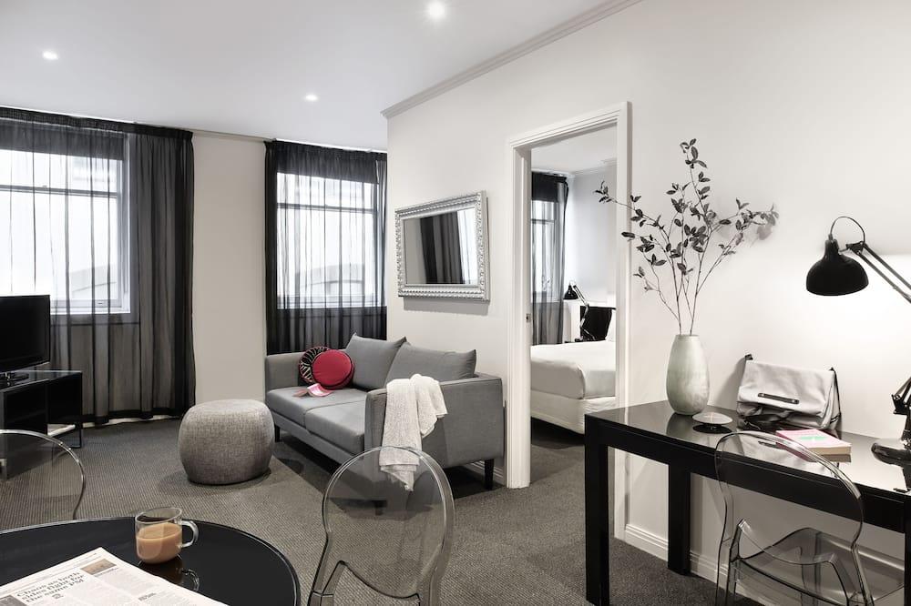 Two Bedroom Apartment - Open Plan - Obývací prostor