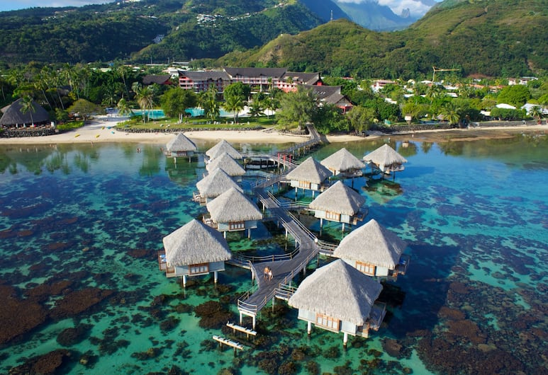 Tahiti Ia Ora Beach Resort - Managed by Sofitel, Punaauia, Luxury Bungalow, Overwater, Aerial View