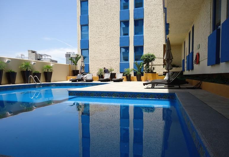 瓜達拉哈拉阿蘭薩蘇歷史中心酒店, 瓜達拉哈拉, 室外泳池