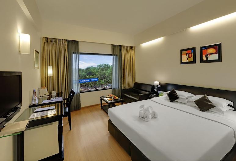 Comfort Inn Sunset, Ahmedabad, Deluxe Double Room, Bilik Tamu
