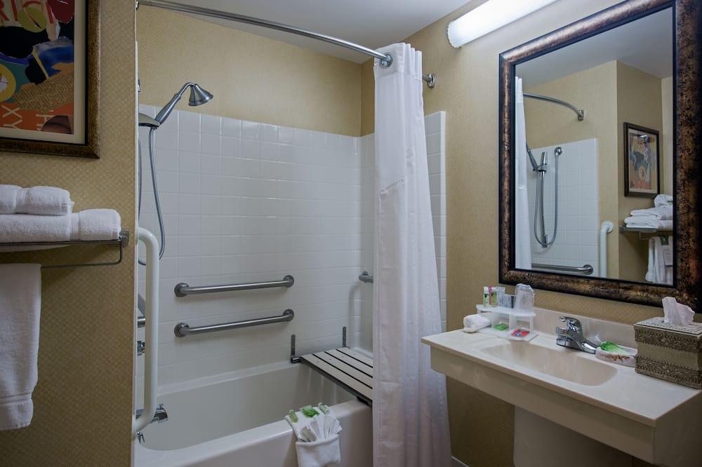 חדר, נגישות לנכים, ללא עישון (Mobility, Accessible Tub) - חדר רחצה