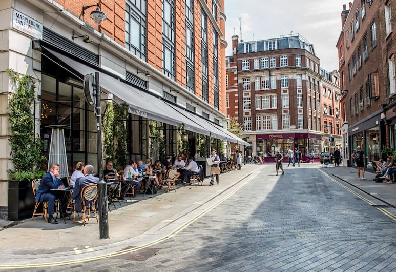 The Marylebone Hotel, London, Outdoor Dining