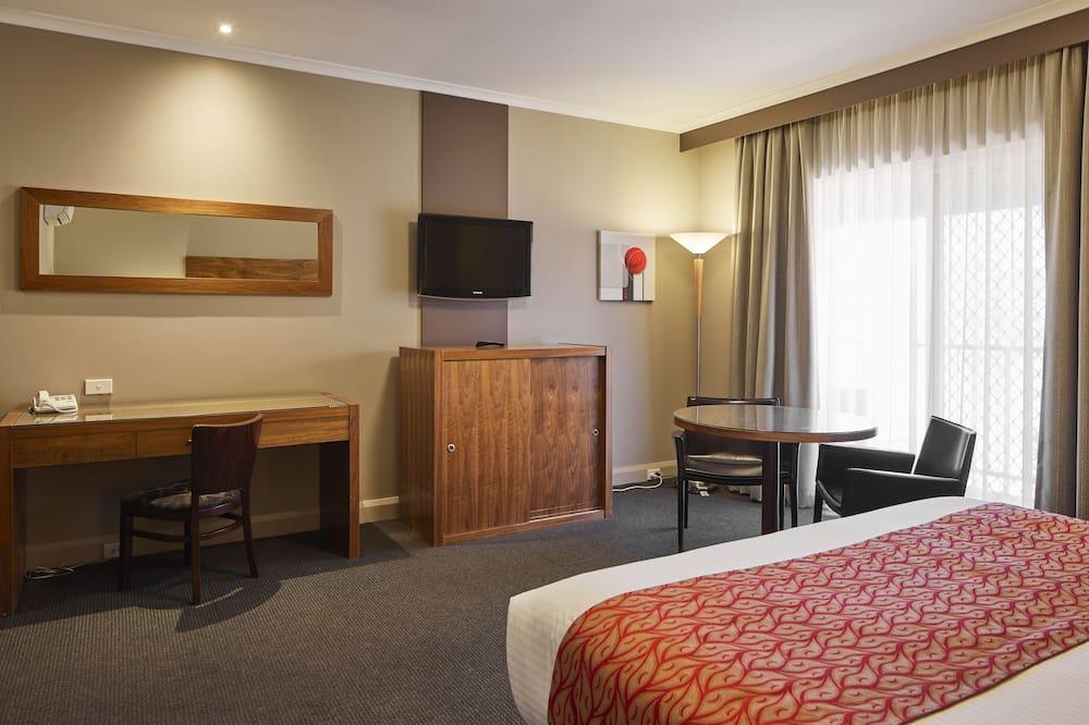 King Room Spa - Living Area