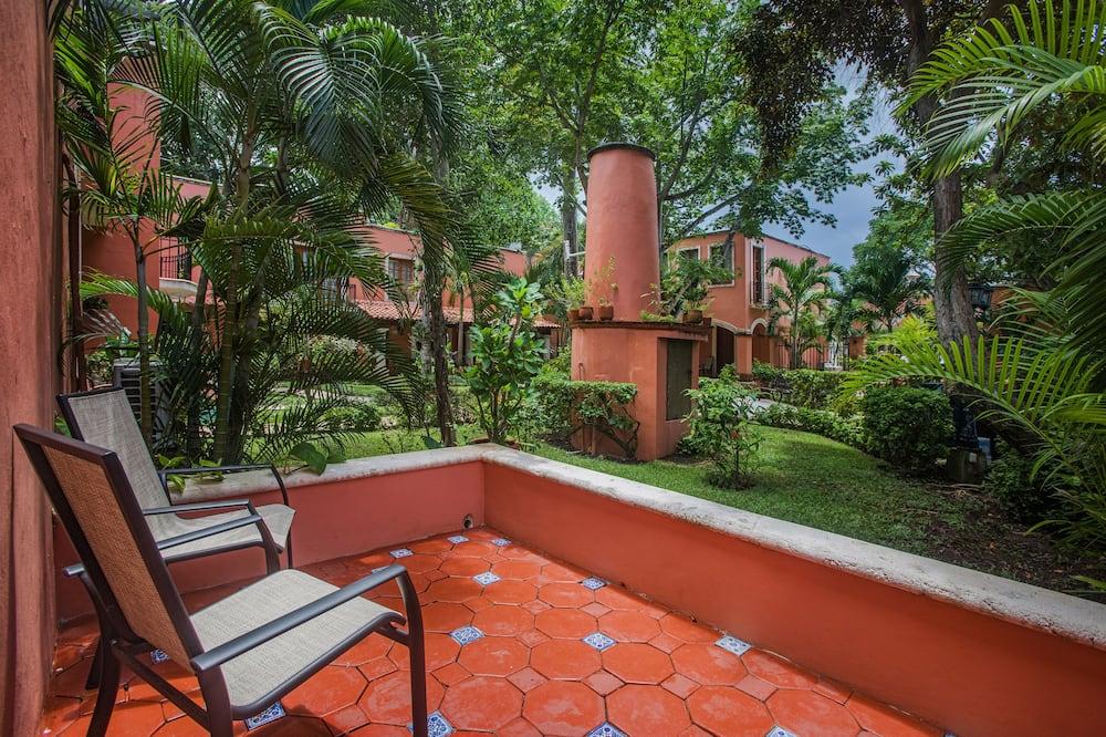 Štúdiový apartmán typu Junior - Výhľad na záhradu