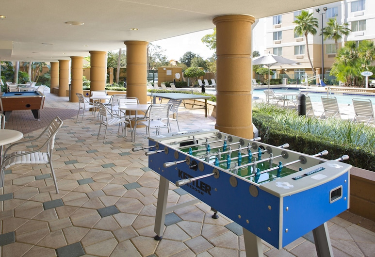 Fairfield Inn & Suites Lake Buena Vista in Marriott Village, Orlando, Sala de Jogos