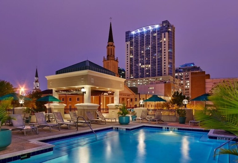 Embassy Suites Orlando - Downtown, Orlando, Terraza